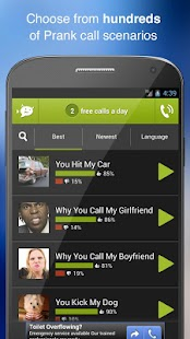 PRANKDIAL - #1 Prank Call App - screenshot thumbnail