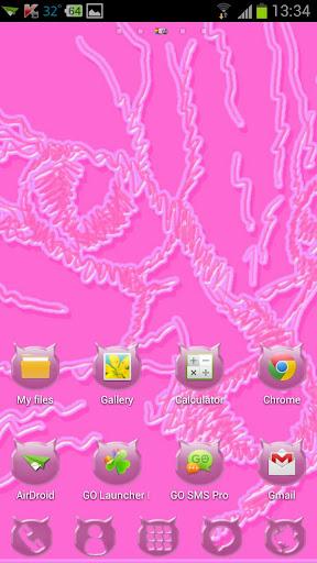 【免費個人化App】Pink Cats Theme-APP點子