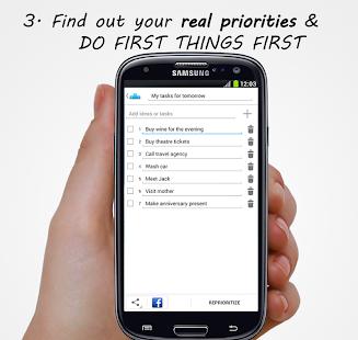 Prioritize Me! - Goals & Todos - screenshot thumbnail