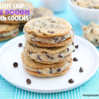 Chocolate Chip Cookie Dough Sandwiches.