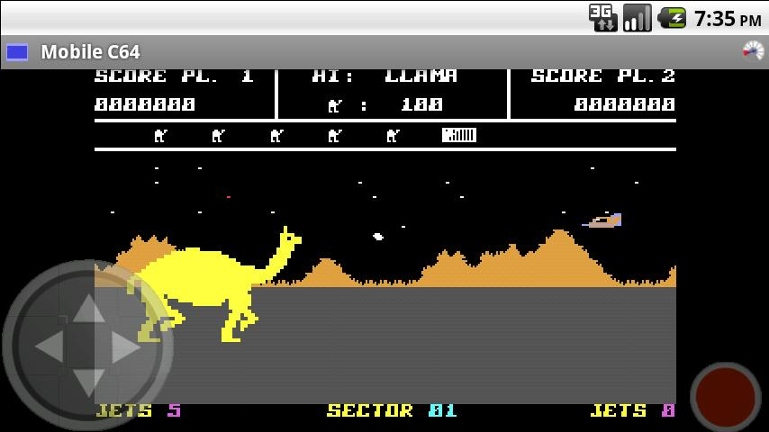 Mobile C64 (Full) - screenshot