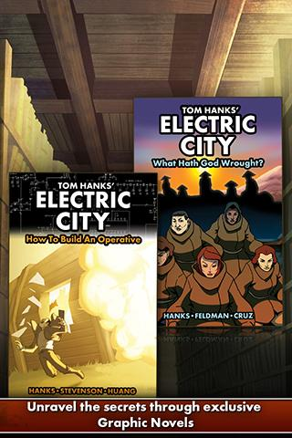 Tom Hanks' Electric City - screenshot