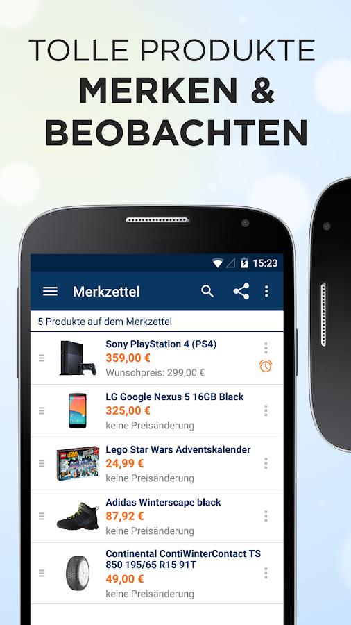 idealo Preisvergleich - screenshot