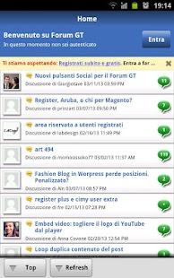 Forum GT per Webmaster- screenshot thumbnail