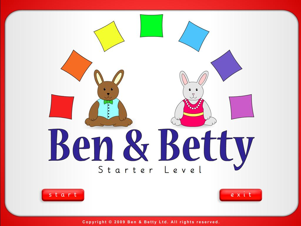 Ben & Betty (Starter - Book 3)- screenshot