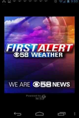 CBS58 Weather - screenshot