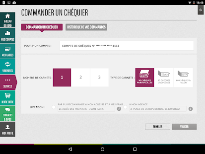 Mes Comptes BNP Paribas- screenshot thumbnail