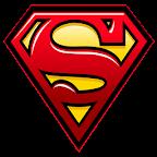 Superman Sticker Widget