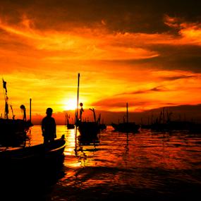 Waiting by Ridwan Ilyas - Landscapes Sunsets & Sunrises