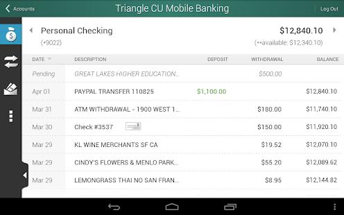 Triangle Credit Union - screenshot thumbnail
