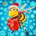 Santa Bee icon