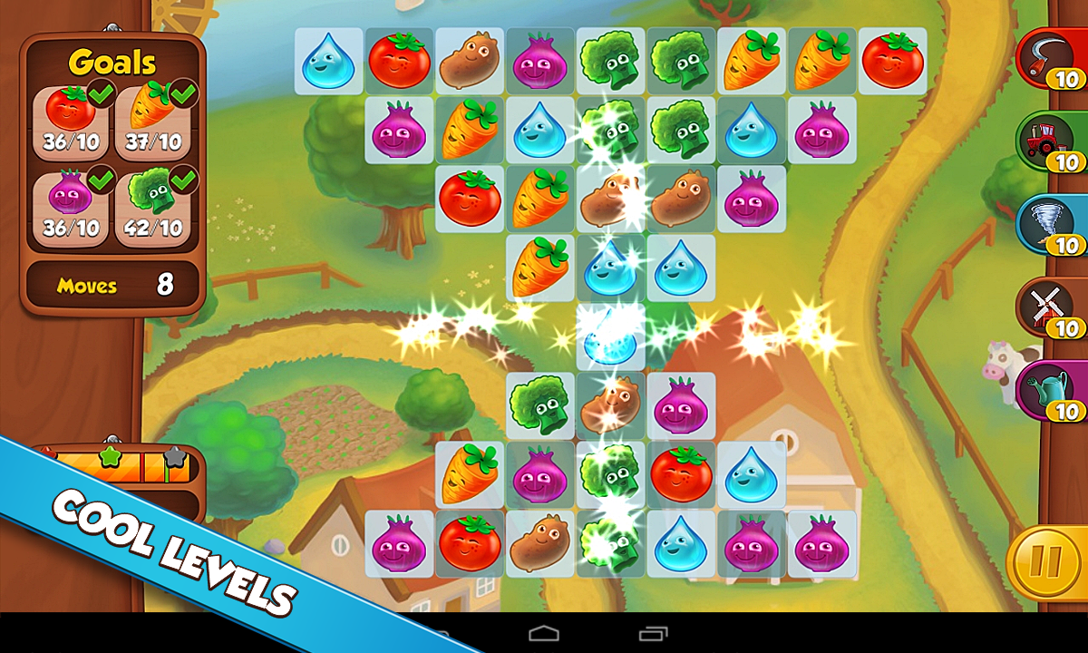 Farm Puzzle Story Match 3 Game - screenshot