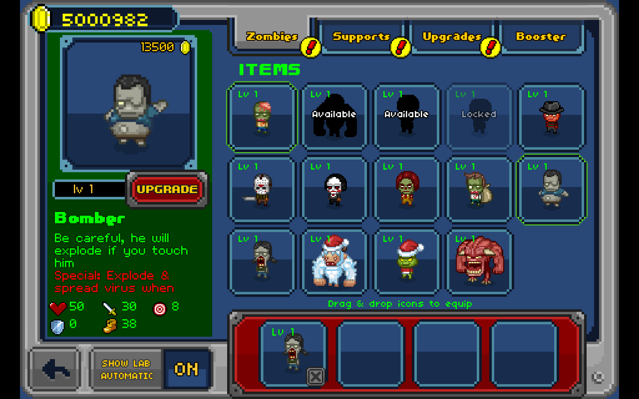 Infectonator- screenshot