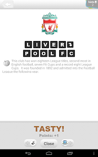 Logo Quiz - Soccer Clubs - screenshot thumbnail