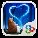 Bearabbit GO Launcher Theme icon