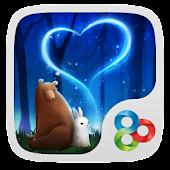 Bearabbit GO Launcher Theme