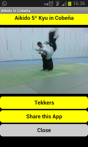 Aikido 5º Kyu en Cobeña
