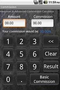 Commission Calculator - screenshot thumbnail