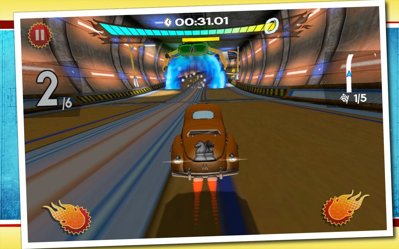Retro Future Racing- screenshot