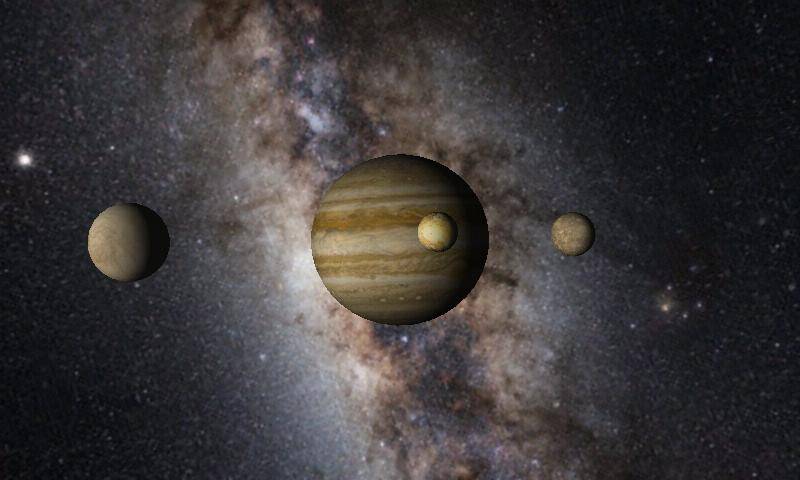 Solar System 3D Wallpaper Pro- screenshot
