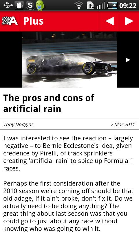 AUTOSPORT - screenshot