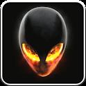 Alien Skull Fire LWallpaper icon