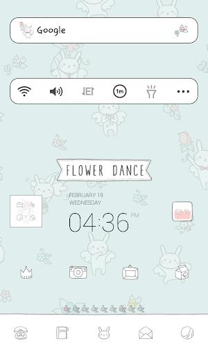 個人化必備APP下載|flower dance dodol theme 好玩app不花錢|綠色工廠好玩App
