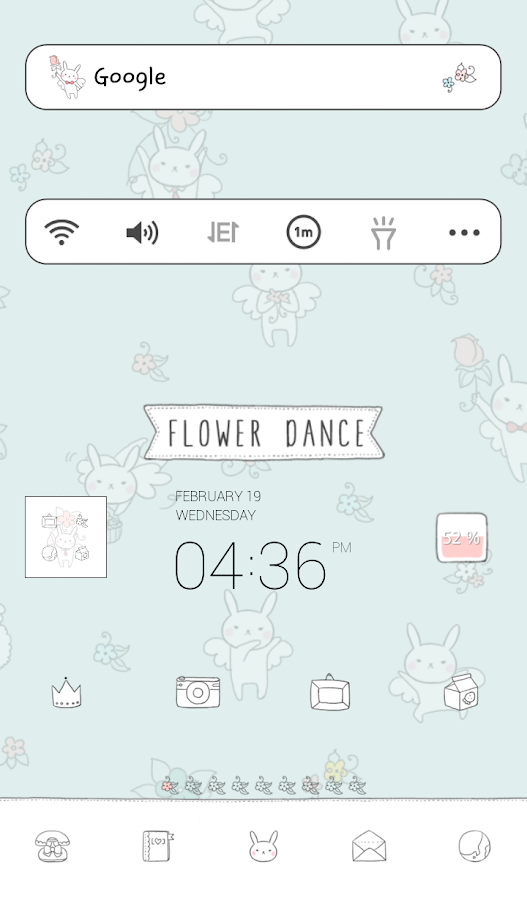 flower dance dodol theme - screenshot