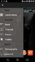 Screenshot of Marillion - Official App