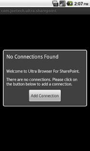 Ultra Browser For SharePoint- screenshot thumbnail