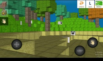 Screenshot of BlockWorld LITE
