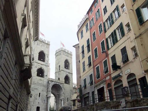 Gateway in Genoa, Italy.