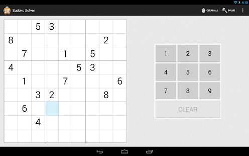 Sudoku Solver - screenshot thumbnail