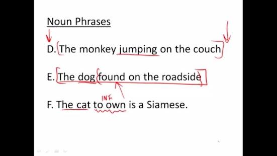 English Grammar Lessons- screenshot thumbnail