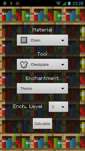 玩免費娛樂APP|下載Enchanty Pro Minecraft EnCalc app不用錢|硬是要APP