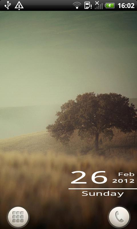 Mono Date Widget Lite - screenshot