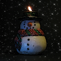 SnowMan Candle icon