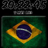Brazil Digital Clock