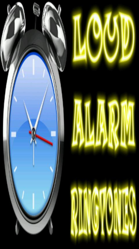 LOUD Alarm Ringtones- screenshot