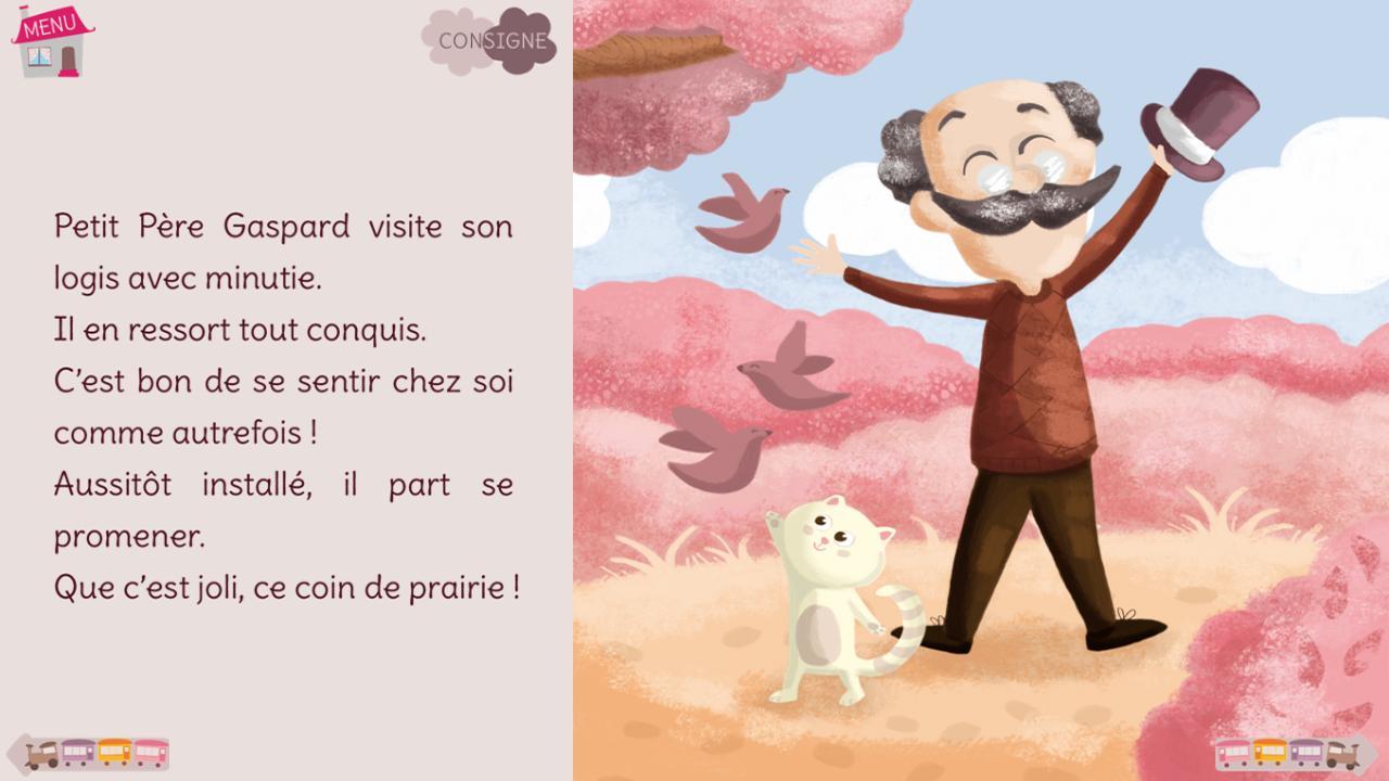 Petit Père Gaspard - extrait - screenshot