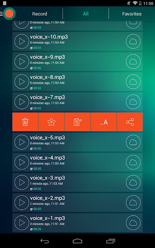 Voice Recorder - Dictaphone 2.6 screenshots 12