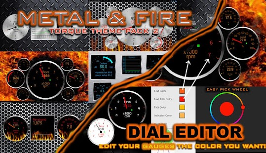 Torque Theme Pack 2 (OBD 2) - screenshot thumbnail