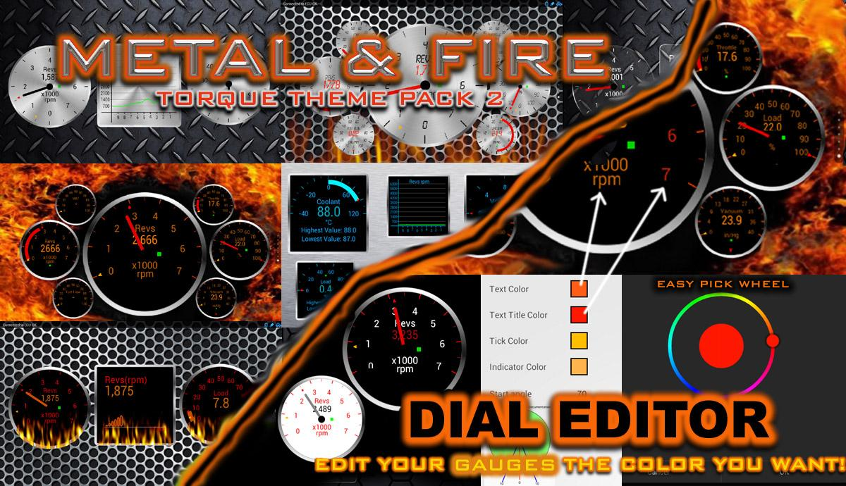 Torque Theme Pack 2 (OBD 2) - screenshot