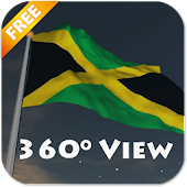 Real Jamaica Flag Live Wall