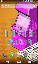 Pixel Art Clock Screenshot 4