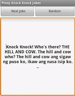 Pinoy knock knock jokes android apps on google play