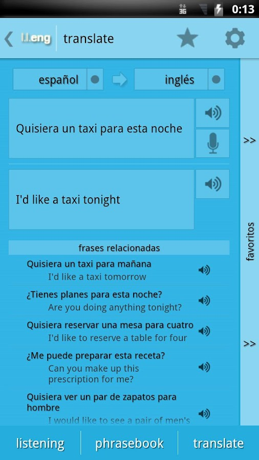Learn Languages: English - screenshot