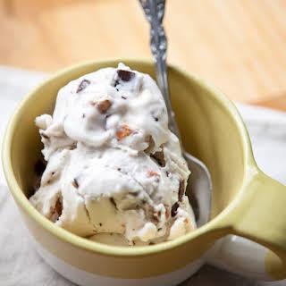 Vegan Coconut Almond Chocolate Chip Ice Cream.