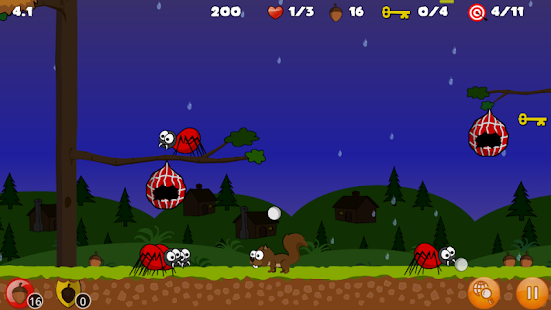Buster's Squirrel Game Lite - screenshot thumbnail