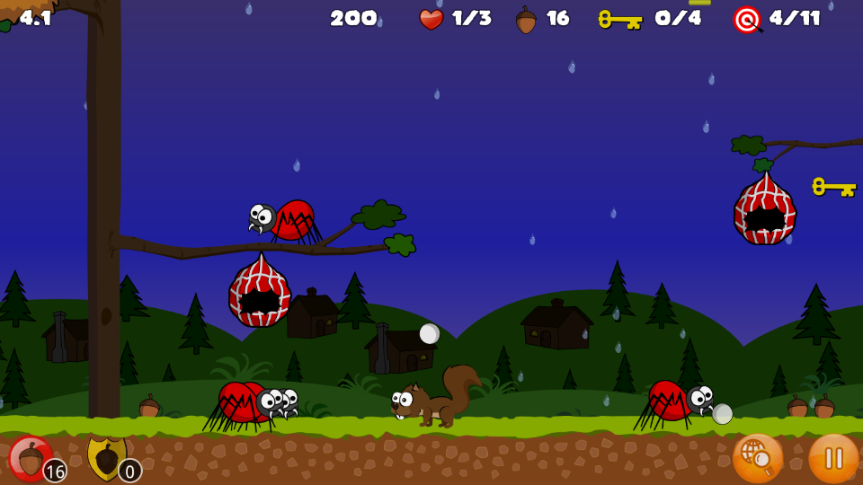 Buster's Squirrel Game Lite- screenshot